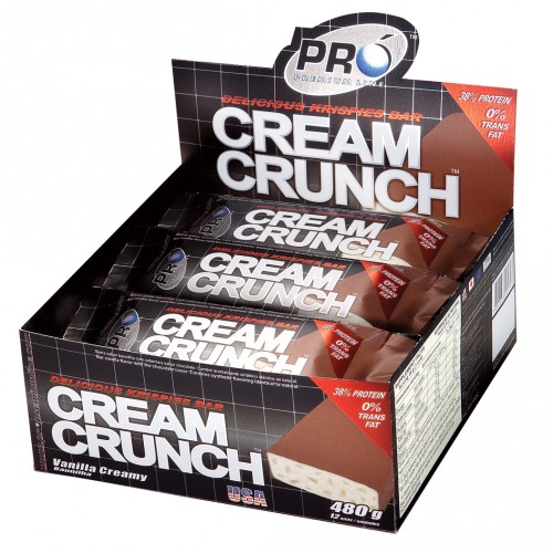 Whey Bar Cream Crunch Limão - 12 Unidades Probiotica