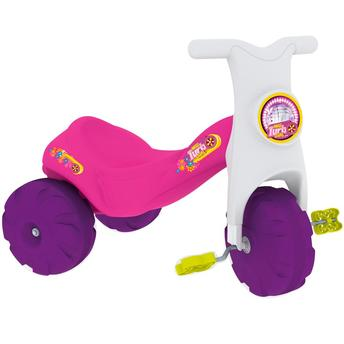 Triciclo New Turbo Girls Rosa/branco Xalingo 0753.7
