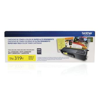 Toner Brother Amarelo Tn-319y