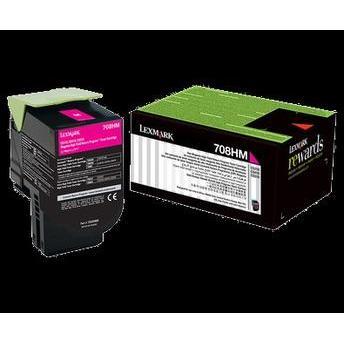Toner Lexmark 70x Magenta 70c8hm0