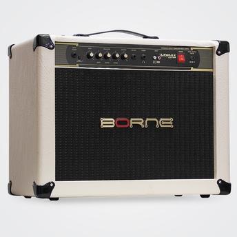 Caixa Acústica Borne Cubo - Bege 50 W Rms Vorax 1250