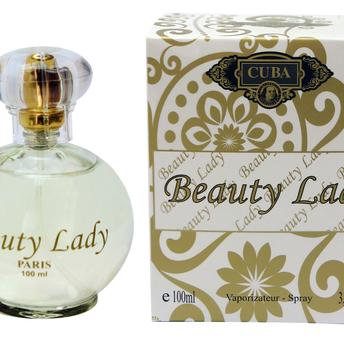 Perfume Beauty Lady Cuba Eau de Parfum Feminino 100 Ml