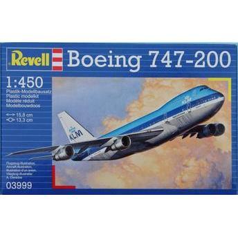 Boeing 747-200 1:450 Revell - Aeromodelismo