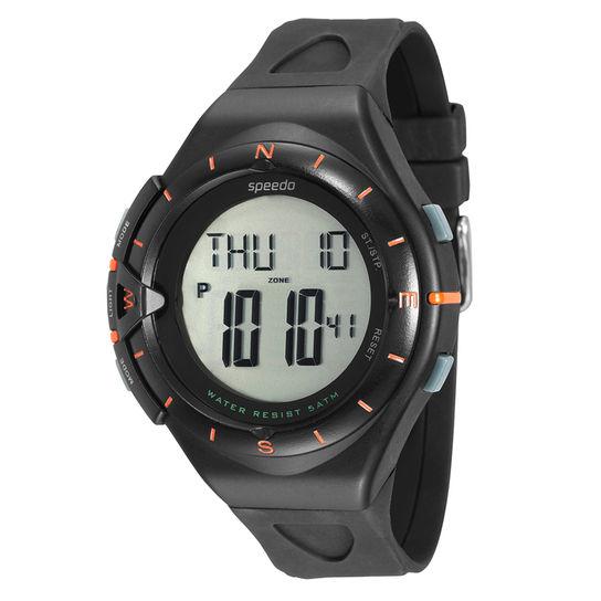 Monitor Cardíaco Relógio Preto Speedo - 58010g0evnp1