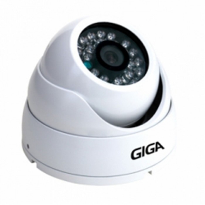 Câmera Giga Security Ir Day Night Infra Dome 1/3 - 15 Mt 3,6 Mm - Gs 2015sb