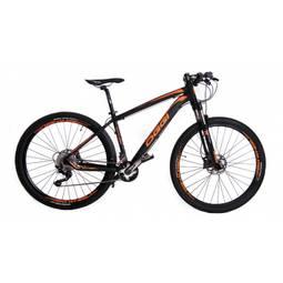Bicicleta Oggi Bike Big Wheel 7.4 Aro 27,5 Susp. Dianteira 20 Marchas - Laranja/preto