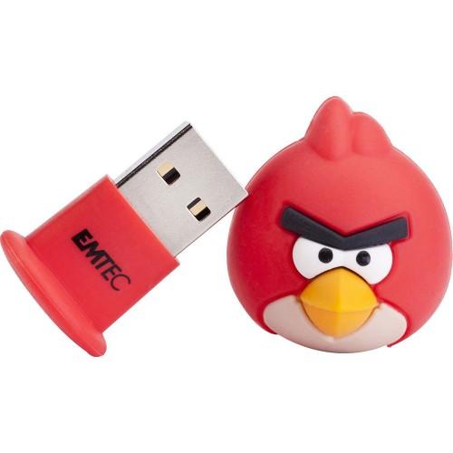 Pen Drive Emtec Angry Birds - Red Bird 8gb - Ecmmd8ga100