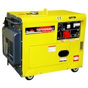 Gerador de Energia Diesel 6000w Toyama Trifásico Bivolt - Td7000sge3