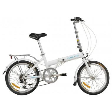 Bicicleta Blitz Alloy Aro 20 Rígida 6 Marchas - Cinza