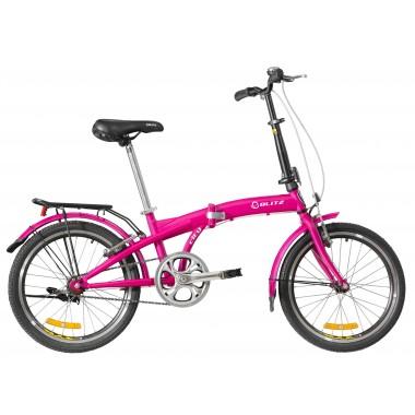 Bicicleta Blitz City Aro 20 Rígida - Rosa