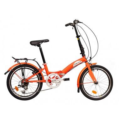 Bicicleta Blitz Fish Aro 20 Rígida 6 Marchas - Prata