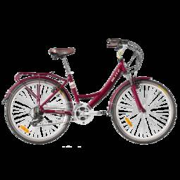 Bicicleta Blitz Confort Aro 26 Susp. Dianteira 21 Marchas - Vermelho