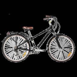 Bicicleta Blitz Comfort Aro 700 Susp. Dianteira 21 Marchas - Verde