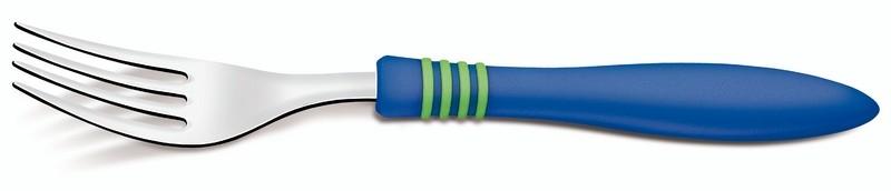 Garfo Cor&cor Azul Avulso Tramontina 23452210