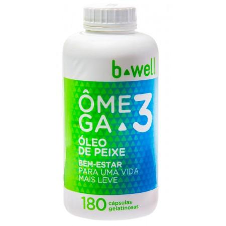 B-well Ômega 3 180 Cápsulas