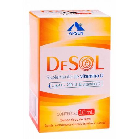 Apsen Vitamina D Doce de Leite 10ml