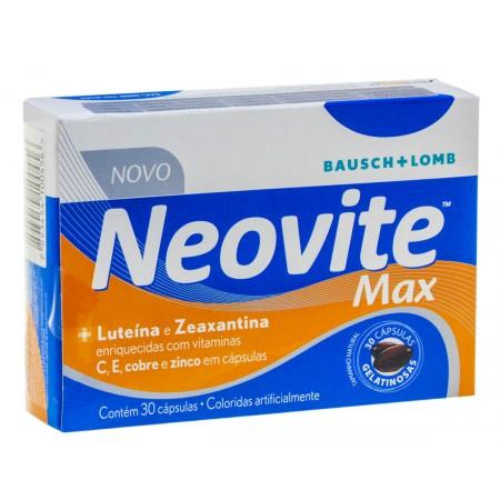 Bausch & Lomb Neovite Max 30 Cápsulas