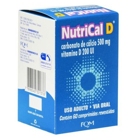 Fqm Derma Nutrical D 60 Comprimidos
