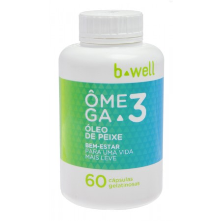 B-well Ômega 3 60 Cápsulas