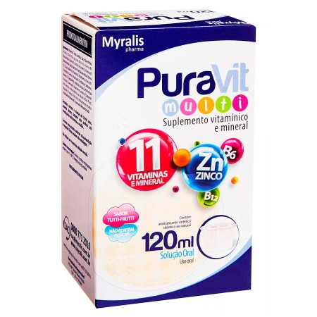 Myralis Pharma Pura Vit Multi 120ml