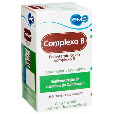 Ems Complexo B 100 Comprimidos