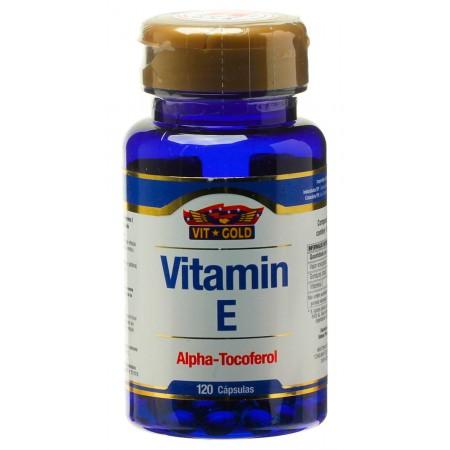 Vitgold Vitamina e 120 Cápsulas