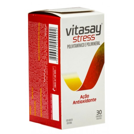 Hypermarcas Vitasay Stress 30 Comprimidos