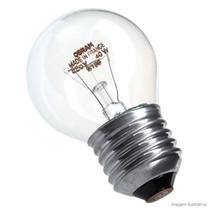 Lâmpada Osram Incandescente Bolinha Clara 40w 2700k 220v - 5109