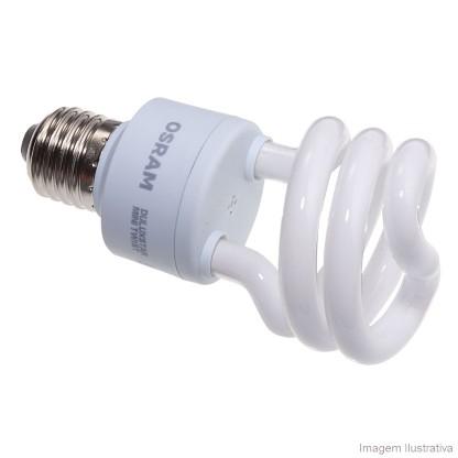 Lâmpada Osram Mini Twist 18w/827 110v