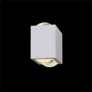 Arandela Femarte Interna Aumínio/ipóxi Branca 13,5cm X9,5cm X 15cm - 703