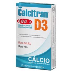 Divcom Calcitran D3 30 Comprimidos