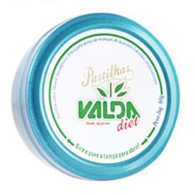 Valda Diet Pastilha Flip Top Displ 12flac X 24 Past - Mentol + Eucaliptol + Timol + Terpinol - Canonne