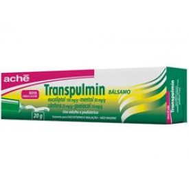 Transpulmin 25 + 100 + 10 + 50mg Balsamo Bg 20g - Canfora + Eucaliptol + Mentol + Guaiacol - Ache