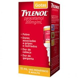 Tylenol 200mg Sol Or Fr Gts 15ml - Paracetamol - Janssen-cilag/j&j
