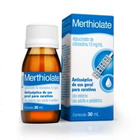 Merthiolate 10mg Sol Top Fr 30ml - Diglucomato de Clorexidina - Hypm