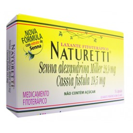 Naturetti Cx 16 Cap - Senna Alexandrina Miller + Associacoes - Sanofi-aventis