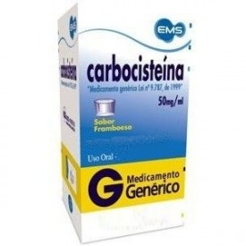 Carbocisteina 50mg Sol Or Fr 20ml - Carbocisteina - Ems