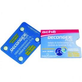 Decongex Plus Cx 25 Bl X 4 Comp - Maleato de Bronfeniramina + Cloridrato de Fenilefrina - Ache