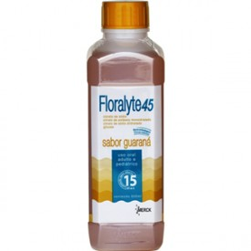 Floralyte 45 Sol Or Fr 500ml Sb Guarana - Cloreto de Sodio + Citrato de Potassio + Citrato de Sodio + G - Merck