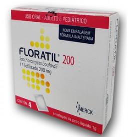 Floratil 200mg Po Oral 4 Sach X 1g - Saccharomyces Boulardii - Merck