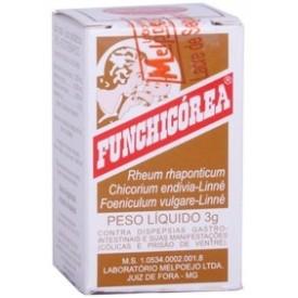 Funchicorea Po Fr 3g - Extrato Mole de Chicorea + Ruibarbo - Melpoejo