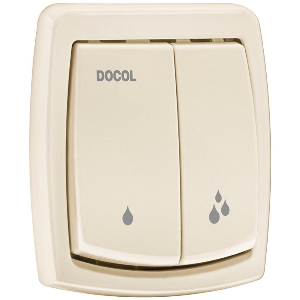 Acabamento Docol para Válvula de Descarga Salvágua Box Bege 00566824
