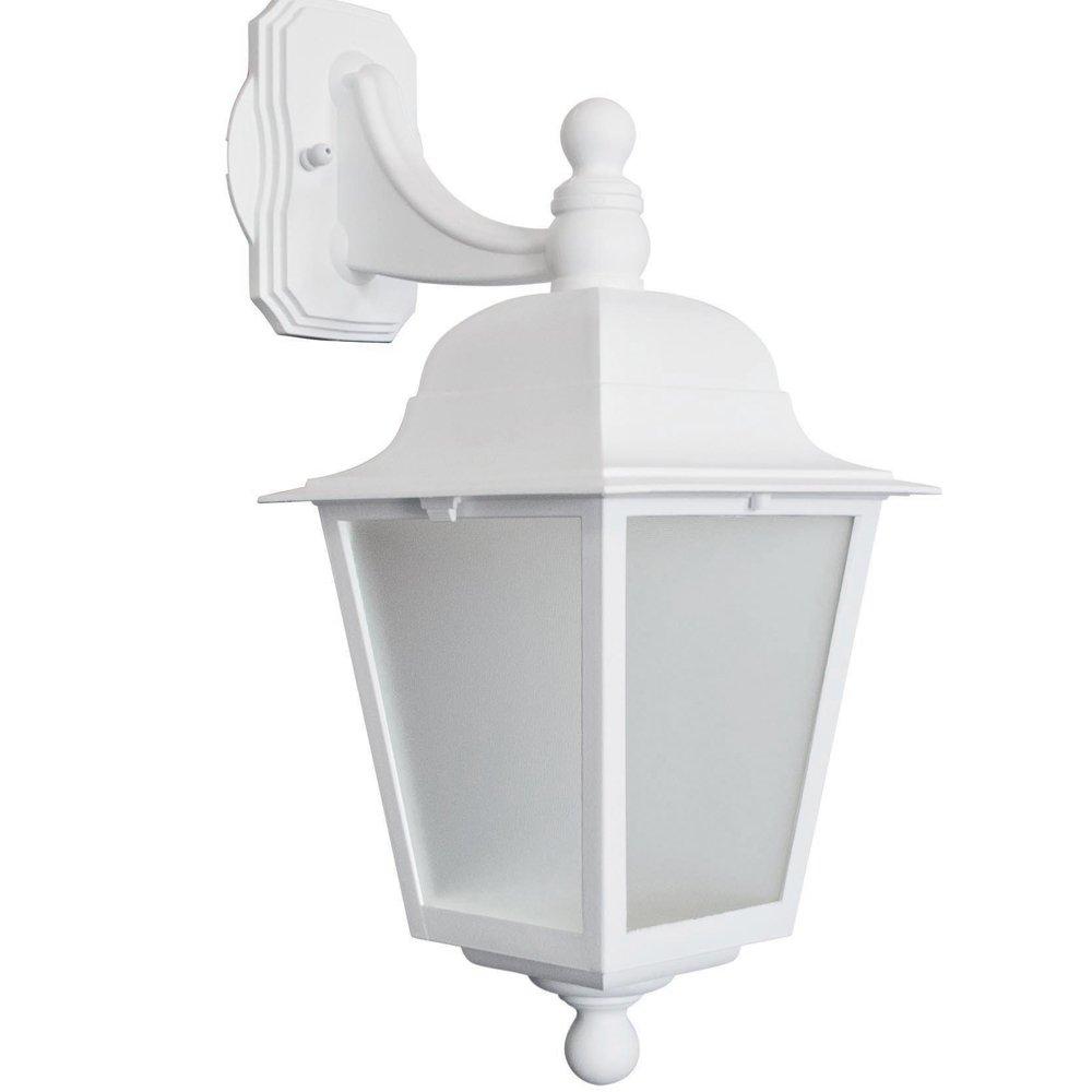 Arandela Dital Iluminação Imperial Termoplástico Branco - 112br