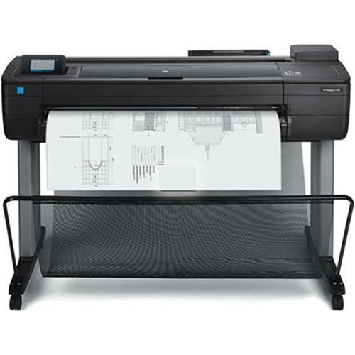 Impressora Convencional Hp Designjet T730 F9a29a Jato de Tinta Colorida Ethernet e Wi-fi Bivolt