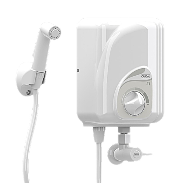 Ducha Higiênica Cardal Elétrica de Plástico 120cm 110v - Aq109