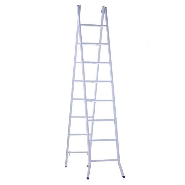 Escada de Aço Extensiva 8x14 14 Degraus 620401 Metalmix