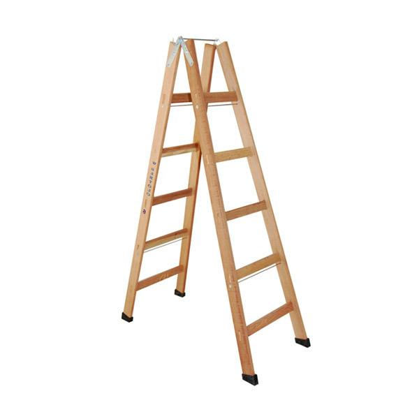 Escada de Madeira Pintor 6 Degraus Pm6 W Bertolo