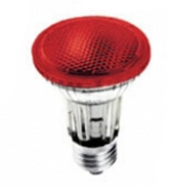 Lâmpada Ourolux Halógena Par20 50w Vermelha 220v - 01343