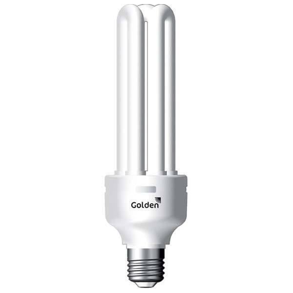 Lâmpada Golden Fluorescente Ap 4u 34w 6500k 127v - 3555n