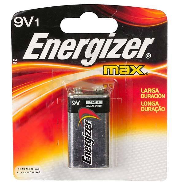Bateria Alcalina 9v Com 1 Unid 25445 Energizer